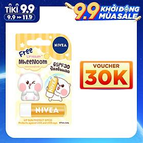 Son Dưỡng Môi Chống Nắng Nivea Lip Sun Protect SPF30 - Tặng Kèm Ốp Son - 85133