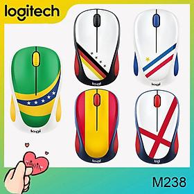 Chuột không dây dòng quạt bóng đá Logitech M238, chuột không dây máy tính xách tay PC
