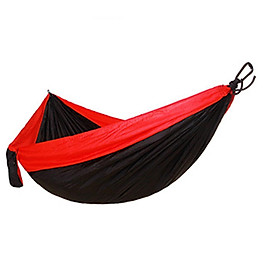 Single Double Person Hammock Adult Outdoor Backpacking Travel Survival Sleeping Bed