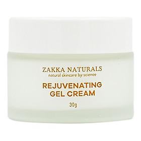 Gel Dưỡng B5 Phục Hồi, Tái Tạo Da Lành Tính - Rejuvenating Herbal Oil Free Gel Cream 30g - Zakka Naturals
