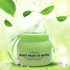 Kem dưỡng body siêu trắng By queen dạng phân tử nước hương thơm nước hoa Pháp dịu nhẹ, quyến rũ 150ml - Body Cream By Queen