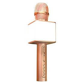 Micro hát karaoke SD 08 mic hát karaoke kiêm loa bluetooth
