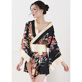 Áo Ngủ Kimono Quyến Rũ DN490