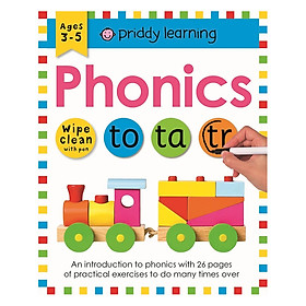 Wipe Clean Workbook Phonics