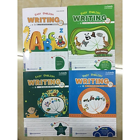 Combo 4 Cuốn Easy Writing English For Kids