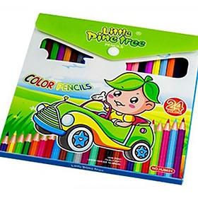 Bộ bút chì màu 24 cây