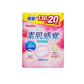 Miếng Lót Thấm Sữa ChuchuBaby 130 + 20pc
