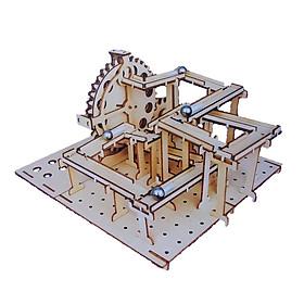 Đồ chơi Lắp ráp gỗ 3D Mô hình Cơ động học Mê Cung The Maze 2 trong 1