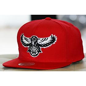 Mitchell & Ness Atlanta Hawks NBA Team BW Snapback