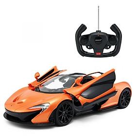 Đồ chơi xe điều khiển RASTAR Xe Mc Laren P1 mở cửa bằng tay cầm màu cam sáng R75100-ORA