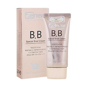 Kem nền siêu mịn tự nhiên lâu trôi chiết xuất ốc sên Hàn quốc BB cream Benew SPF 50 PA+++ ( 50ml)