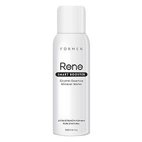 Xịt khoáng câp ẩm, Ngăn ngừa mụn và làm dịu da Rene Smart Booster Crystal Essence Mineral Water (200ml)