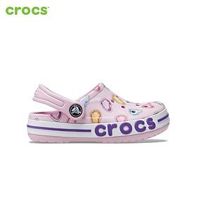 Giày Lười Trẻ Em crocs Bayaband K Graphic 207020