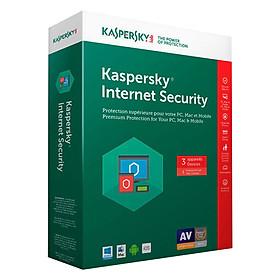 Phần Mềm Diệt Virus Kaspersky Internet Security (KIS) (3 User) - Hàng chính hãng