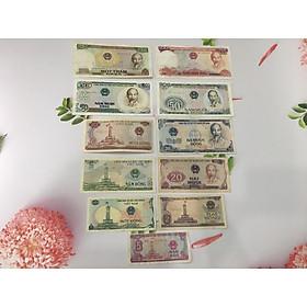 [CHẤT LƯỢNG ĐẸP] Trọn Bộ Tiền Việt Nam 1985 Full 11 tờ, tiền cổ thời bao cấp, tặng phơi nylon bảo vệ tiền - PCCB MINGT