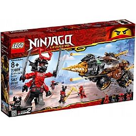 Mô hình đồ chơi lắp ráp LEGO NINJAGO Máy Khoan Chiến Đấu Của Cole 70669 (587 Chi tiết )