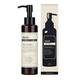 Dầu tẩy trang Klairs Gentle Black Deep Cleansing Oil