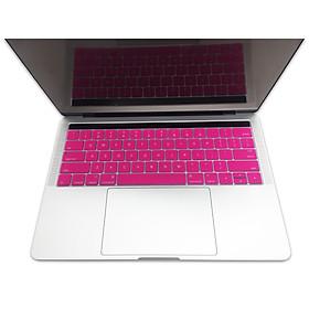 Miếng lót bàn phím in chữ Silicone Macbook Touch Bar 13/15 inch Skin Keyboard - Hàng Chính Hãng