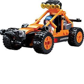 Đồ chơi lắp ráp xe thể thao địa hình trên cát TINITOY (113pcs) YY697631