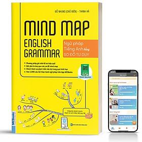 Sách - Mindmap English Grammar - Ngữ Pháp Tiếng Anh Bằng Sơ Đồ Tư Duy Cho Người Học Căn Bản - Học Kèm App ( tặng kèm bookmark sáng tạo )