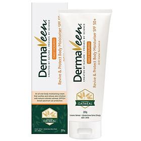 DermaVeen Revive & Protect Body Moisturiser SPF50+ 200g