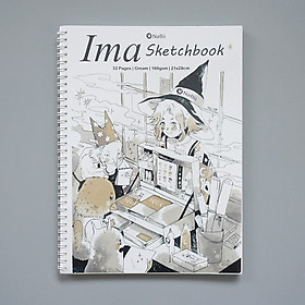 Sổ vẽ chuyên dụng Ima Sketchbook