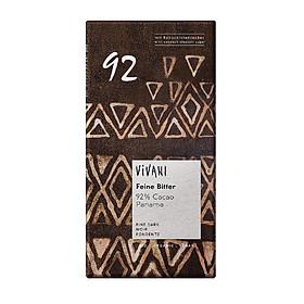 Kẹo Sôcôla đen hữu cơ hảo hạng 70% đến 100% Cacao - Vivani