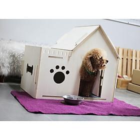 Nhà Gỗ Độc Đáo Dành Cho Chó Mèo #DH010