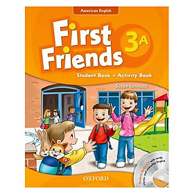 First Friends 3A Student Book + Activity Book (Student Audio CD With Songs, Stories and Everyday English) (American English Edition)