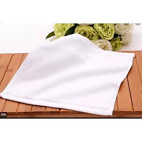 Khăn lau mặt trắng cao cấp A dùng cho spa, khách sạn, nhà nghỉ, homestay