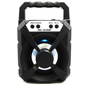 Loa Bluetooth Xách Tay MS-1620BT bộ xử lí âm thanh nổi người dùng có thể cảm nhận chất lượng âm thanh trong trẻo và rõ nét. Đây là mẫu loa được thiết kế dành riêng cho nhu cầu di động và giải trí chất lượng cao.