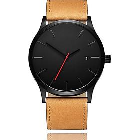 Quartz Watch Watches Fashion Stainless Band Men Mens Dress