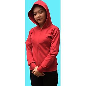 Áo khoác nữ GOKING vải da cá dày 100% cotton, thích hợp chống nắng và giữ ấm hiệu quả