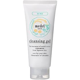 Sữa Rửa Mặt Dành Cho Da Mụn Medel Natural Cleansing Gel Rosemary Blend Aroma (130g)