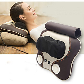 Gối massage có 3 chế độ đấm và ray hồng ngoại cao cấp