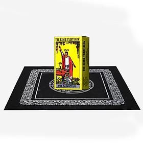 Combo Bộ Bài Bói The Rider Waite Tarot Cao Cấp và Khăn Trải Bàn Tarot