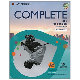 Complete Key For Schools 2nd Edition Teacher's Book With Downloadable Resource Pack