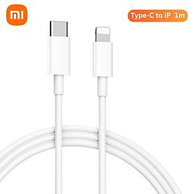 Cáp Xiaomi Type-C to iP Cáp sạc / truyền dữ liệu 2 trong 1 (1m) Cáp đồng bộ dữ liệu USB C với chứng chỉ Tương thích