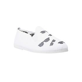 Giày Lười Nữ Flossy W Frenetico White - Trắng
