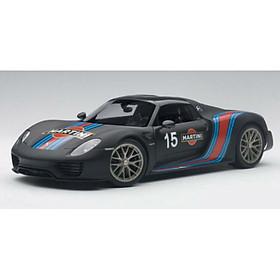 Xe Mô Hình Porsche 918 Spyder Weissach Package 1:18 Autoart - 77929 (Đen)