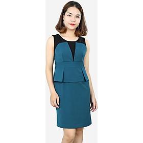 Đầm nữ DDP2422XD xanh đậm