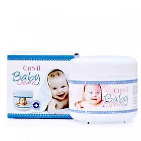 Crevil Baby Creme, kem chống hăm tã, dưỡng ẩm cho bé (125ml, hàng Đức)
