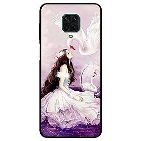 Ốp lưng dành cho Xiaomi Redmi 9s - 9 Pro - 9 Promax mẫu Cô Gái Thiên Nga