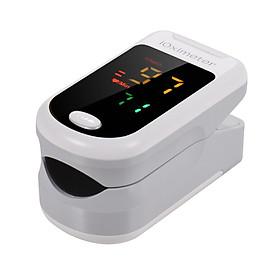 Máy đo nồng độ oxy trong máu bằng đầu ngón tay SpO2 màn hình LED kĩ thuật số kèm dây buộc