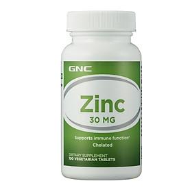 Thực Phẩm Bảo Vệ Sức Khỏe Bổ Sung Kẽm GNC Zinc 30mg 100 Viên
