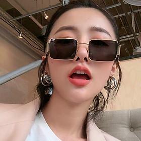 Kính xinh, Kính mát Nữ chống nắng chống UV400 thời trang ulzzang + tặng tuavit Kính Xinh mini