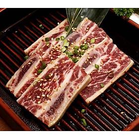 [Chỉ giao HCM] Sườn Bò Mỹ Có Xương DTP - 500Gr
