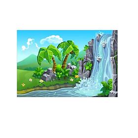 Tranh Dán Tường 3D | Tranh dán tường cửa sổ 3D | T3DMN_T6_162
