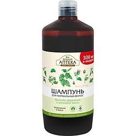 Zelenaya Apteka Dầu gội dành cho tóc thường Cây tầm ma và dầu ngưu bàng 1000m