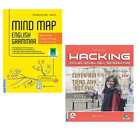 Combo sách: Mindmap English Grammar - Ngữ Pháp Tiếng Anh Bằng Sơ Đồ Tư Duy + Hacking Your English Speaking - Luyện Nói Tiếng Anh Đột Phá
